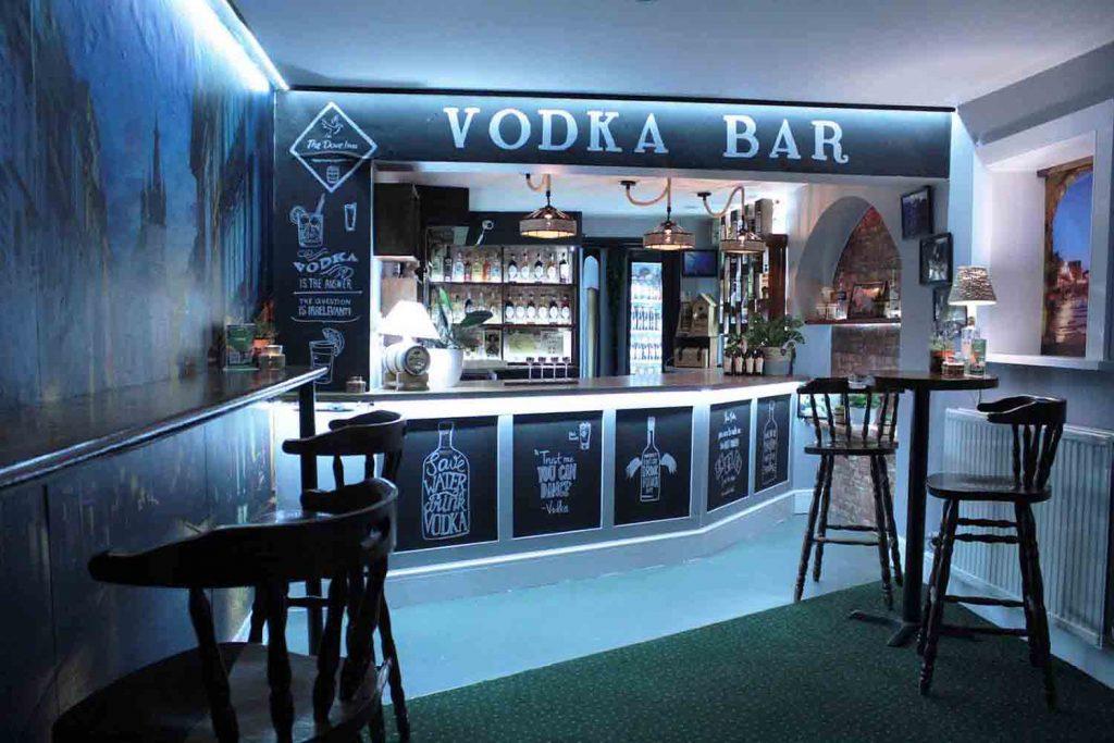 Our Vodka Bar