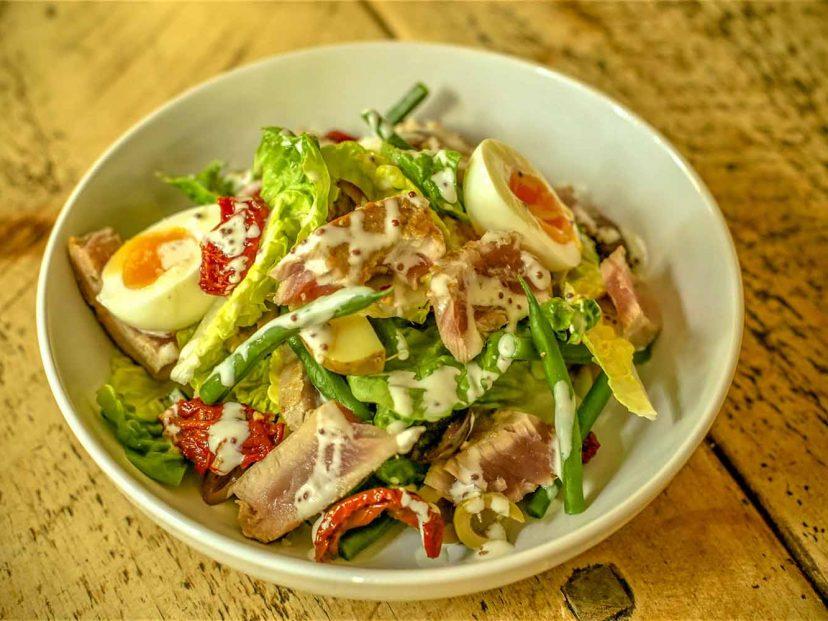 A lovely Nicoise Salad